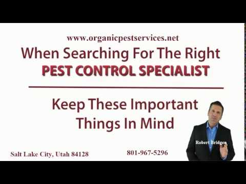 organic pest services   salt lake city testimonial video