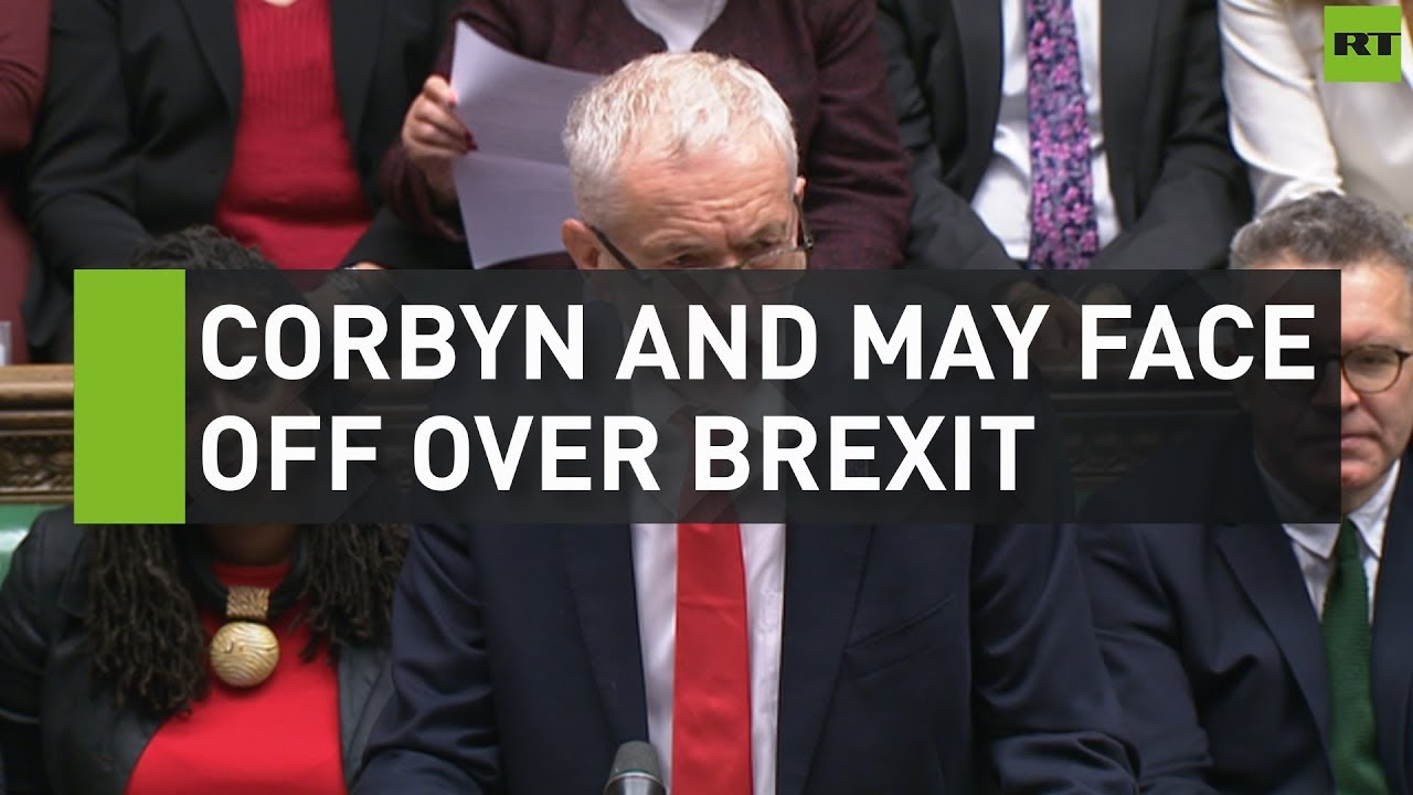 Corbyn and May face off over Brexit