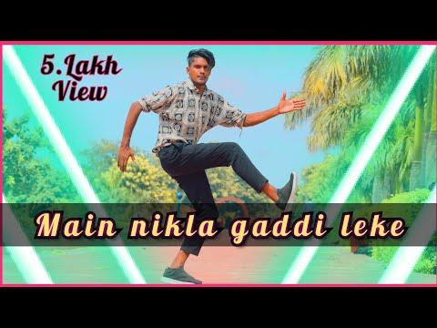 Roboticmixdance  Mai Nikla Gaddi LeKe Robotic Popping Mix Dance  2018-19