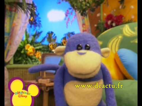Playhouse Disney Channel France - typical presentation 07/08