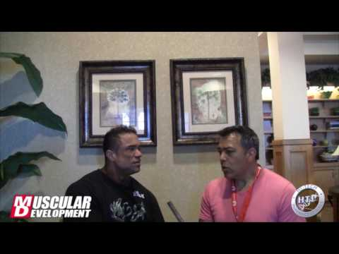 IFBB Pro Paulo Almeida Interview before 2017 Chicago Pro