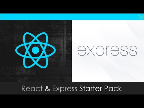 React & Express Starter Pack For Full Stack Development
