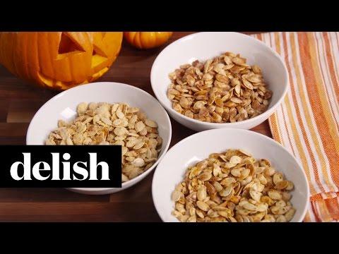 Pumpkin Hack: Make Spiced Seeds  Delish