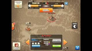Clash of Clans TEAM DE vs. ARAB CLAN