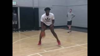 Joel embiid working on his jumper and dunks | july 17th 2017