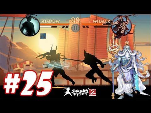 Shadow Fight 2 : Siêu Nhân Cuồng Phong Thử Sức đinh Ba Hải Tặc POSEIDON #25