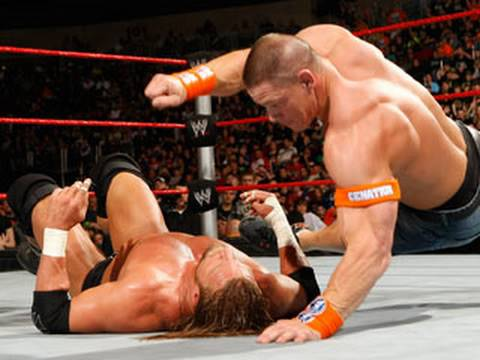 Raw: John Cena vs. Triple H