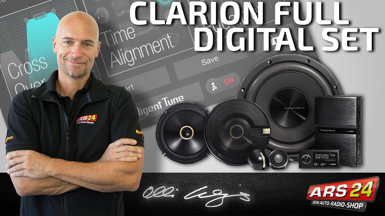 nachr sten einer super soundanlage an original autoradios clarion full digital sound f r profis. Black Bedroom Furniture Sets. Home Design Ideas