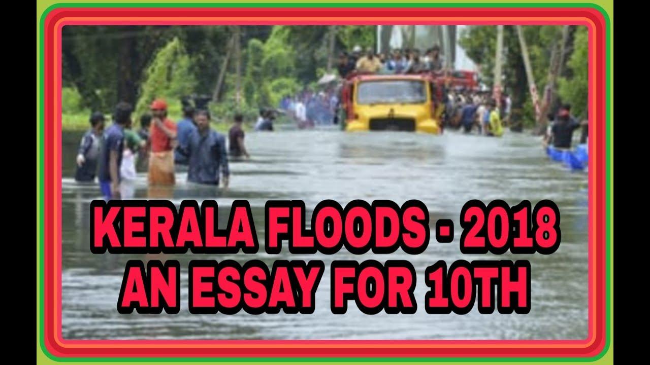Kerala Floods  Th Essay Kerala Floods  Th Essay