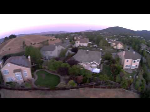 drone over almaden valley