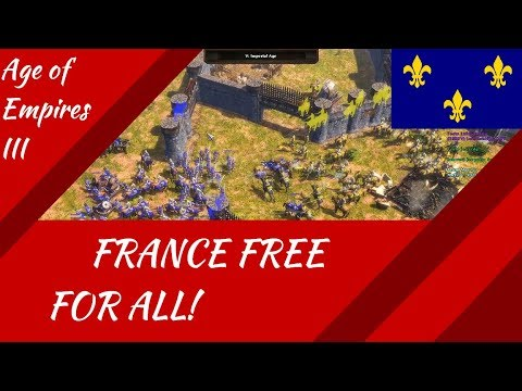 France Free For All! AoE III