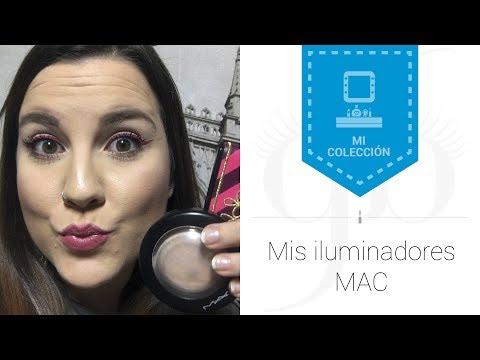 Mis iluminadores de MAC | AntesMuertaKSinRimel