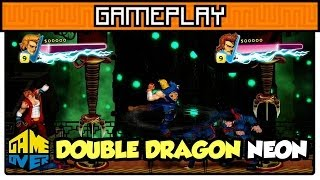 Double Dragon Neon - Gameplay
