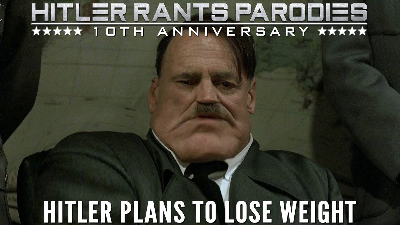 Hitler plans to lose weight