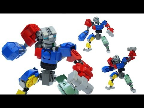 Building Lego Real Steel Metro