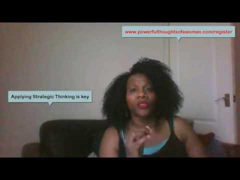 Applying Strategic Thinking Video 1
