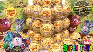 Смешарики Чупа Чупс как Киндер Сюрприз/Smeshariki Toy Kinder Surprise Chupa Chups