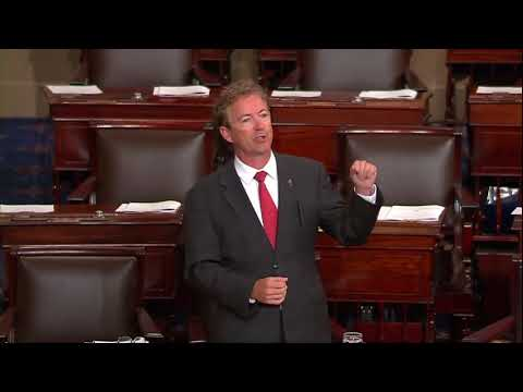 Stop Sending Money for Foreign Aid and Send for Hurricane Harvey | Rand Paul