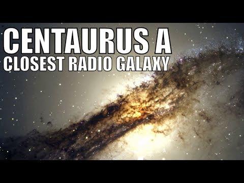 CENTAURUS A - Closest Quasar/Radio Galaxy to Us