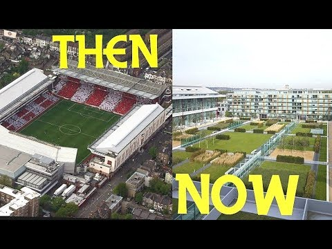 10 Old English Football Stadiums THEN and NOW