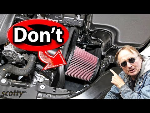Do K&N Air Filters Destroy Your Car's Engine