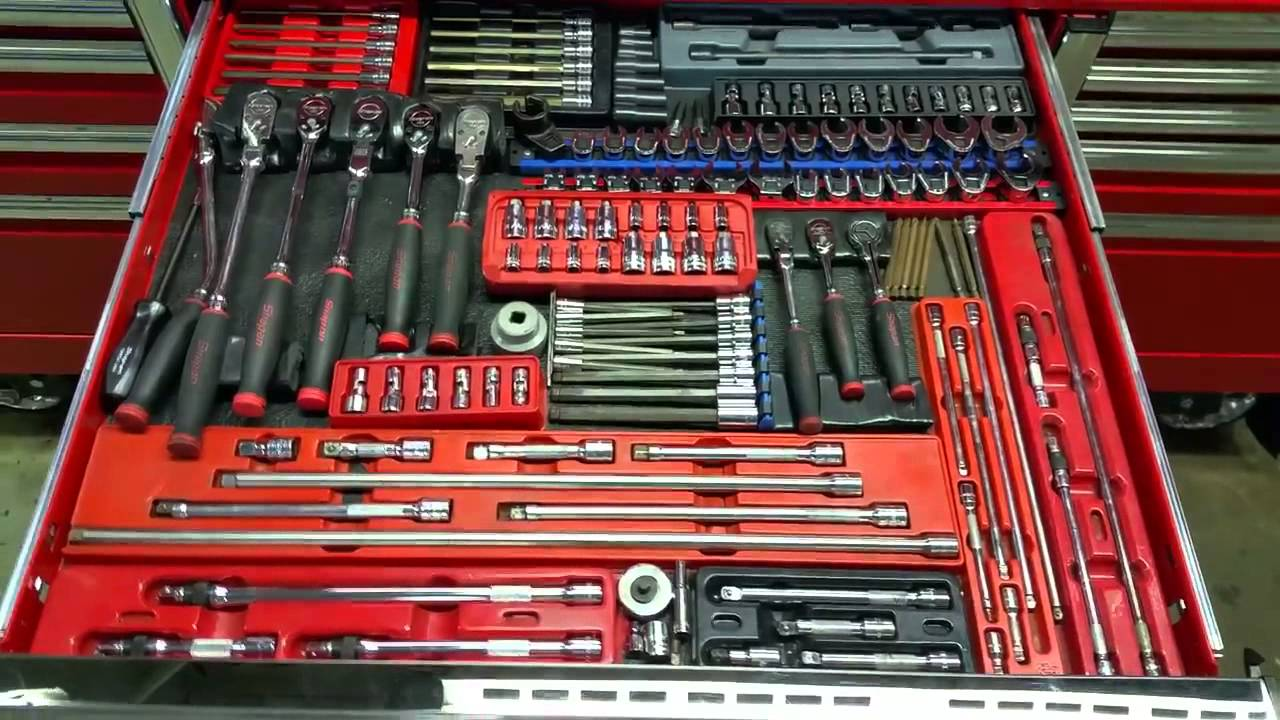 Snap On 84 Inch Epiq Tool Box Tour