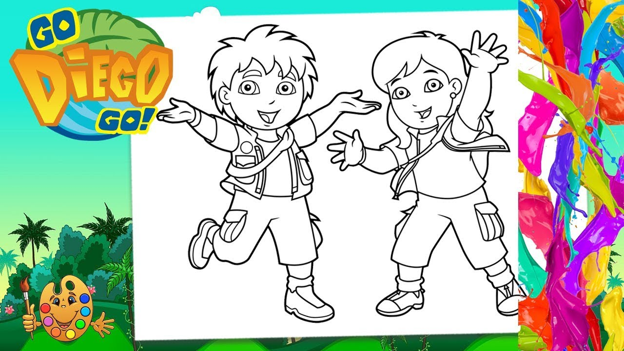 alicia diego coloring pages - photo#33