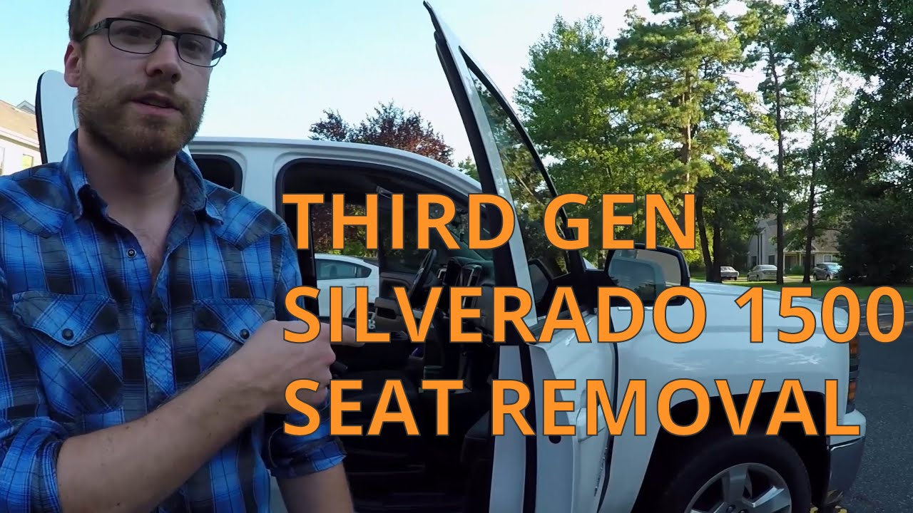 2014 2018 Silverado Sierra Tahoe Seat And Center Console