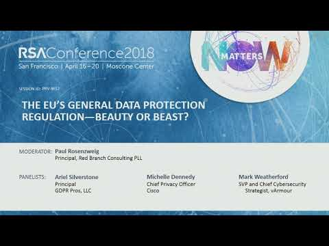 The EU's General Data Protection Regulation—Beauty or Beast?