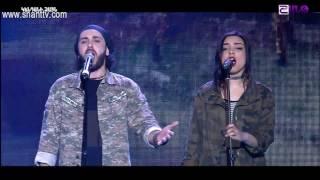 X Factor4 Armenia Gala Show 7 Khmbakayin katarum 02 04 2017