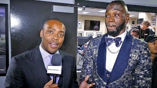 DEONTAY WILDER on MISTAKES in DRAW vs Tyson Fury w/ Radio Rahim