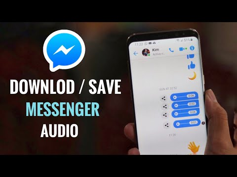 How To Download Audio On Facebook Messenger Easy 2019