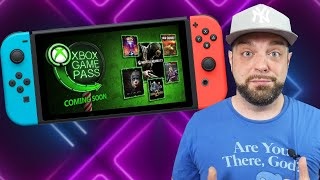 BIG Update On Xbox Game Pass to Switch + MORE Nintendo Direct Games?!