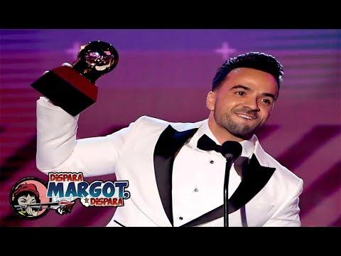 Luis Fonsi Triunfa con 'Despacito' en los Latin Grammy