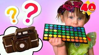 Sfida al cioccolato e La raccolta di video per i bambini da Cinque Bambini