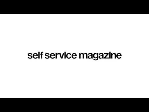 Hailey Baldwin Interview || self service magazine 2016