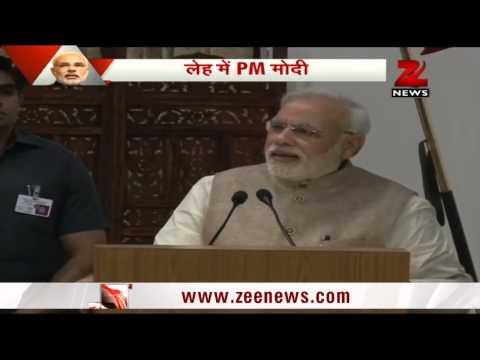 PM Modi's motivating speech at Leh Ladakh