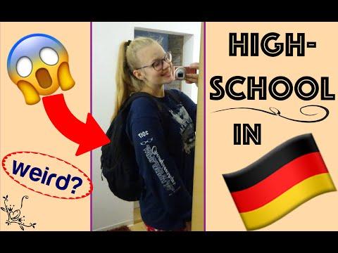 GERMAN HIGHSCHOOL - Vlog Ll JUSA