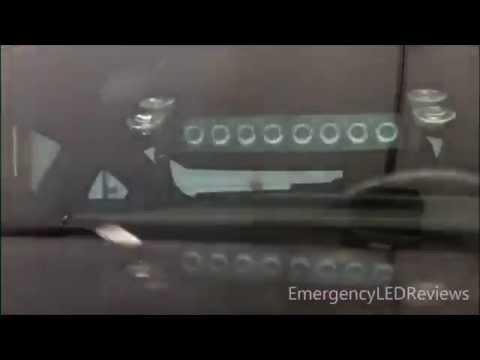 SIMKAPR® 8 LED Visor Dashboard Emergency Strobe Lights