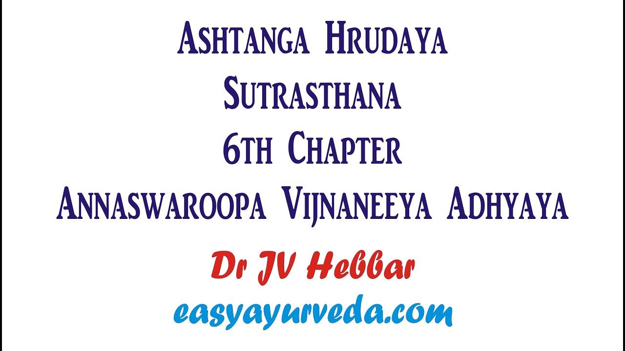 Ashtanga Hridayam In English Pdf