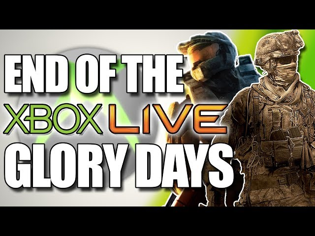 What Happened To The Glory Days Of Xbox Live Youtube
