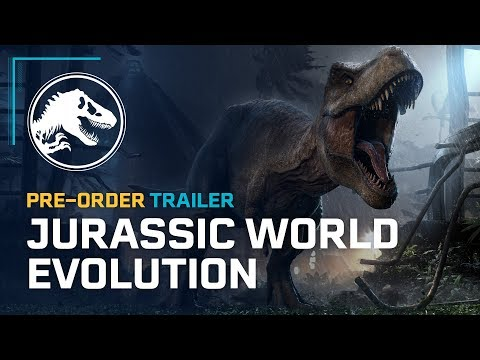 Стартовал предзаказ игры Jurassic World Evolution и объявлена дата релиза