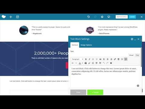 WPBakery Page Builder Kurzdemo
