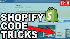 Fast & Simple Shopfiy Code Changes to Boost Sales ? Beginners Guide to Shopify Dropshipping Ep.8