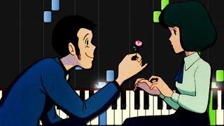 【楽譜あり】炎のたからもの/映画『ルパン三世 カリオストロの城』主題歌(ピアノソロ中上級)
