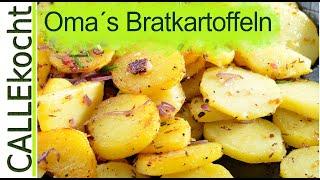 Knusprige Bratkartoffeln zubereiten - aber wie? Das Rezept.