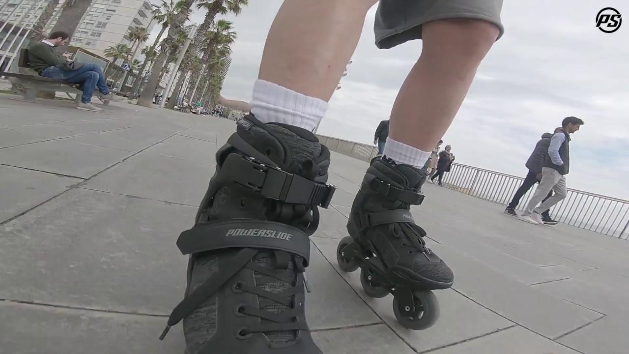 6ff2f174fa9 Powerslide Phuzion Krypton 100 Men skates - Rolling Reviews - YouTube