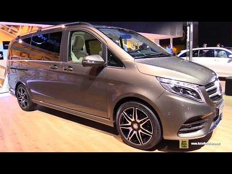 2017 Mercedes V250d - Exterior and Interior Walkaround - 2016 Paris Motor Show