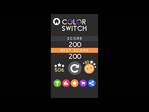 Cheat Color Switch Game- Crazy World Record High Score [Crack] [Hack]