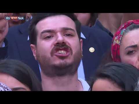 مئات المتظاهرين الأتراك يحيون الذكرى الخامسة لاحتجاجات 2013  - 15:22-2018 / 6 / 1